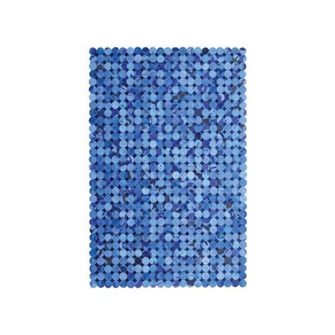 Blue Hide Rug Cow Hide Rug Multi Blue Mosaic 4 L X 6 H