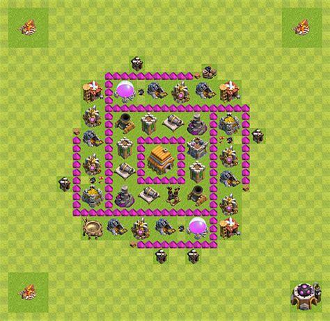 layout vila nivel 6 clash of clans layout de defesa clash of clans n 237 vel da centro de vila
