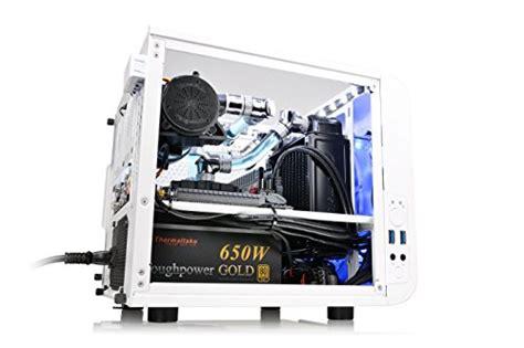 Thermaltake V1 Snow thermaltake v1 snow edition spcc mini itx cube
