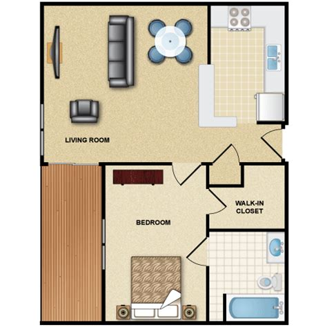 floor plans with inlaw apartment one bedroom flat 1br 1ba gif 500 215 500 home in
