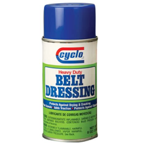 cyclo belt dressing