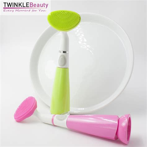 Pobling Cleaner T1910 3 sonic acne brush pore cleaner electric pobling ultrasonic scrub power cleansing