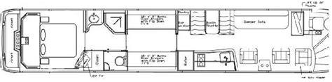 prevost rv floor plans busforsale com