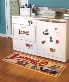 Laundry Room Mats by Quot Laundry 15 162 Quot Retro Utility Area Rug Room Floor Mat 52