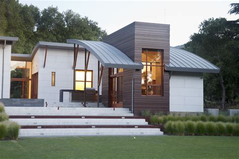 Loft Style 4136 by Saratoga Creek House Contemporary Exterior San
