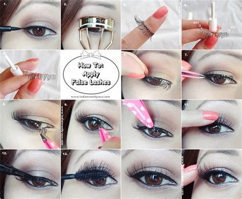 How To Wear False Eyelashes by 3 Simple Steps To Apply False Lashes Perfectly Pretty