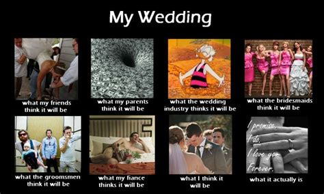 Wedding Planning Meme - a little wedding meme i created when i get married