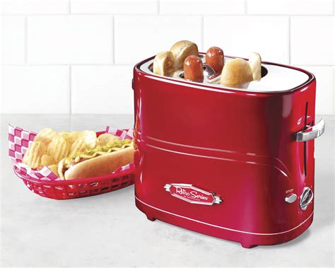Hotdog And Bun Toaster 3 In 1 Breakfast Station Does It All Simplemost