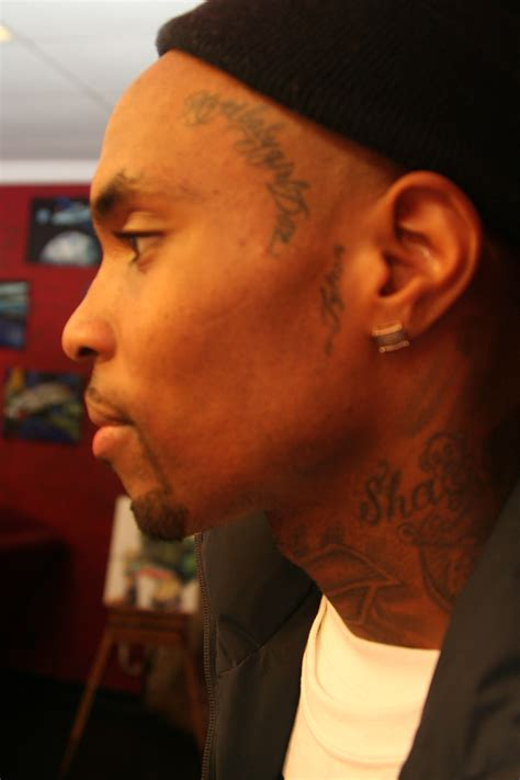 tygas tattoos rapper tyga gets his tattoos at the original