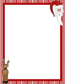 Christmas newsletter border template creation4home top