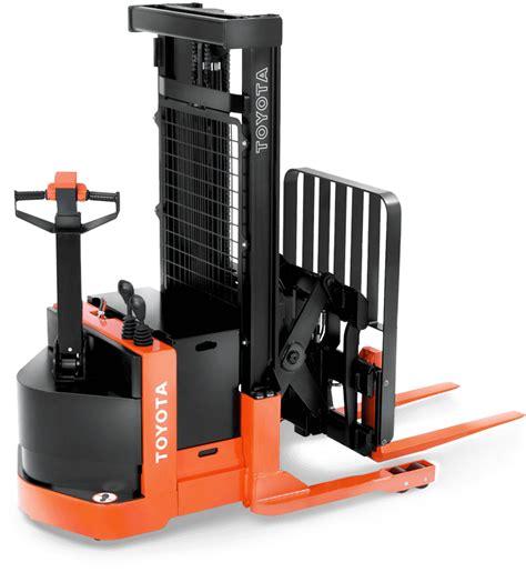 toyota stacker truck walkie reach truck toyota forklifts