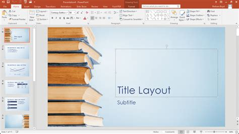 theme ppt book powerpoint templates book theme gallery powerpoint