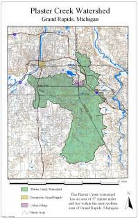 watershed map plaster creek stewards resources maps of the plaster creek watershed