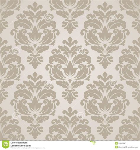 seamless pattern how to seamless damask pattern royalty free stock photography