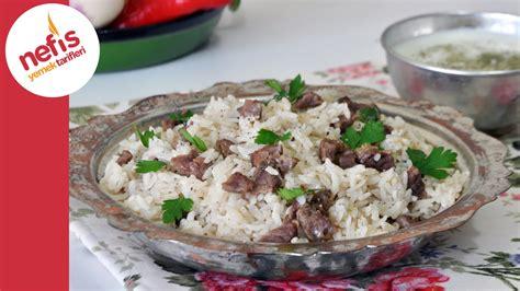 etli bezelyeli pilav tarifi etli pilav nasıl yapılır pilav tarifi canım anne