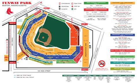 fenway park map parhlag