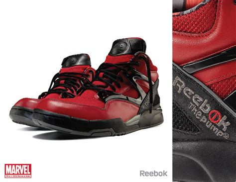 marvel shoes for marvel character themed reebok shoes geektyrant