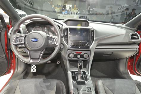 subaru impreza interior 2017 there s a big difference between a boxer and a flat engine