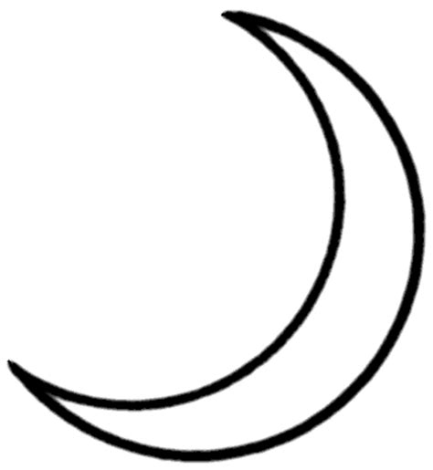 coloring page crescent moon crescent moon clipart cliparts co