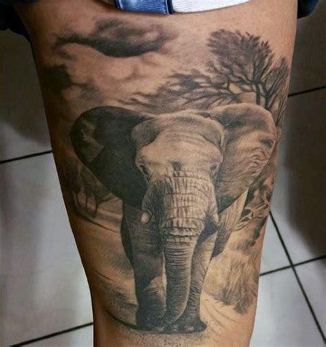 elephant tattoo for guys 100 elephant tattoo designs for men think big tattoo