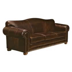 Leather Sectional Sleeper Sofa Sedona Leather Sleeper Sofa Wayfair