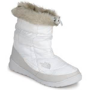 The north face nupse bootie fur white the north face