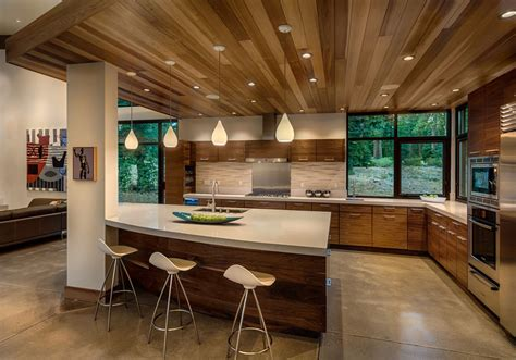 kitchen design rules home design modern cabin like retreat rules the californian landscape