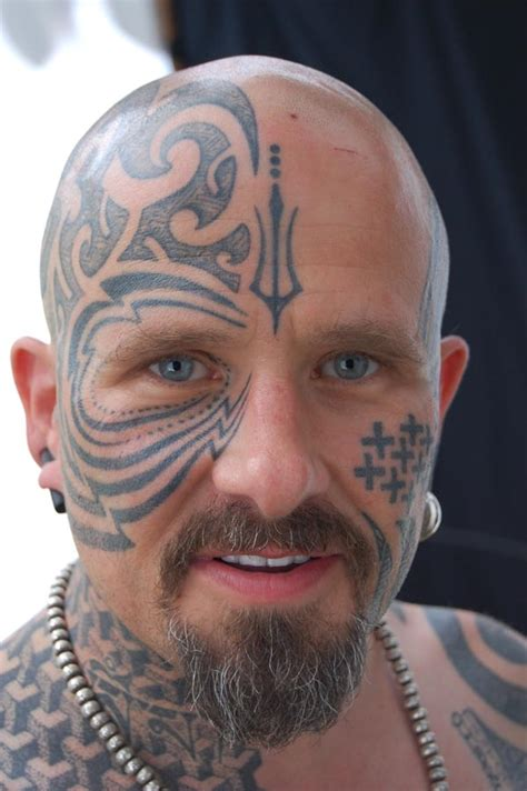 tattooed hair for bald men images designs