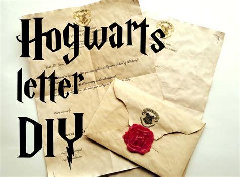 Real Harry Potter Acceptance Letter diy hogwarts letter harry potter tutorial