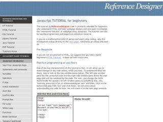 tutorial web design javascript javascript tutorials for beginners web development tutorials