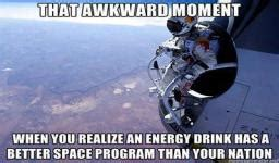 energy drink puns image an energy drink better space program than