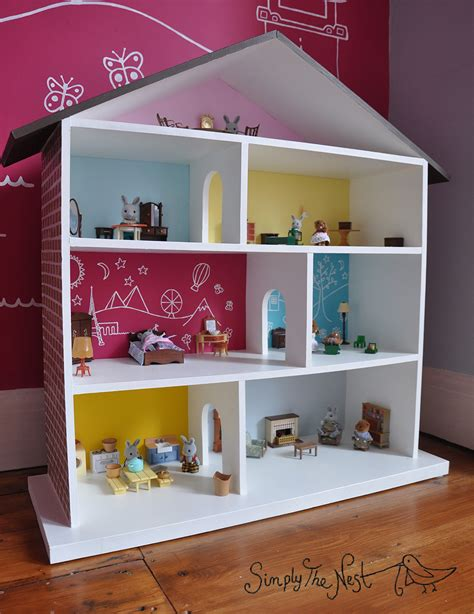 diy doll house a diy dollhouse project by simply the nest a uk renovation blog diy pinterest
