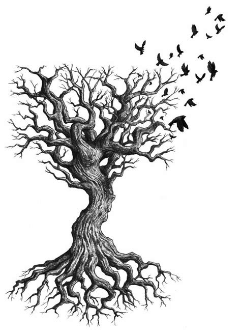 dead tree tattoo by greencardlove best 25 tree designs ideas on small