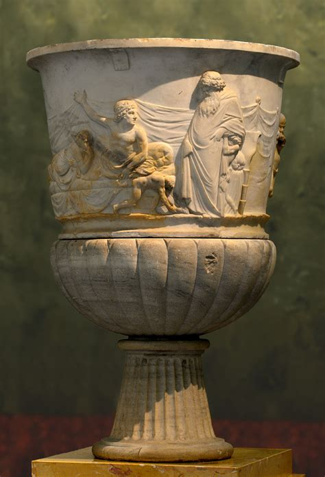 Dionysus Vase by Decorative Vase Dionysus And His Companions