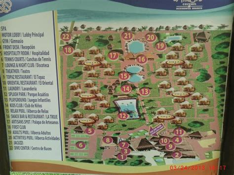 Map of grounds at Allegro Cozumel Picture of Allegro Cozumel, Cozumel TripAdvisor