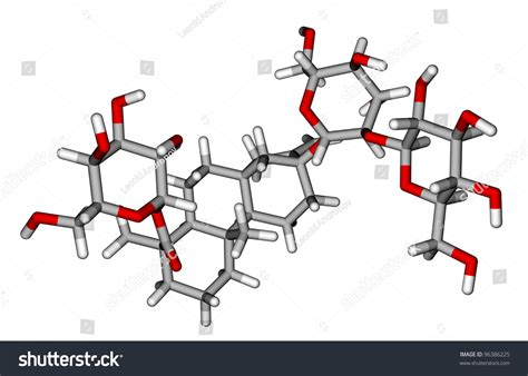 molecular structure  stevioside  extremely sweet