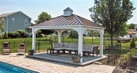 Backyard Pavillion by Outdoor Pavilion Plans That Offer A Pleasant Relaxing Time