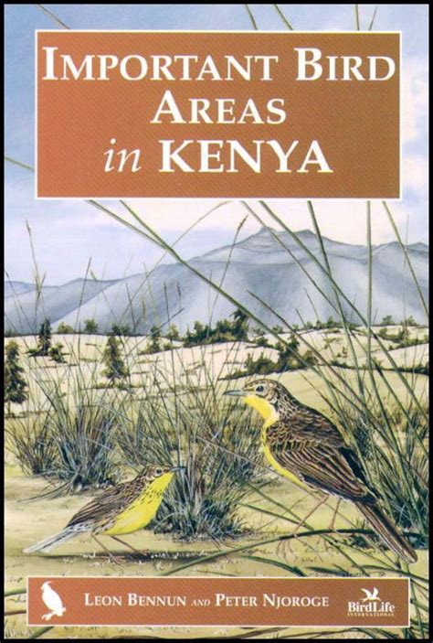50 top birding in kenya books important bird areas in kenya bennun and