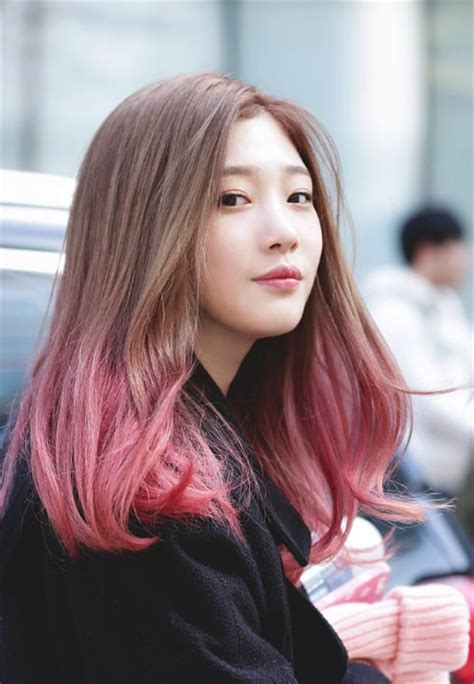 popular kpop hair colours ioi member jung chae yeon will rejoin dia for comeback