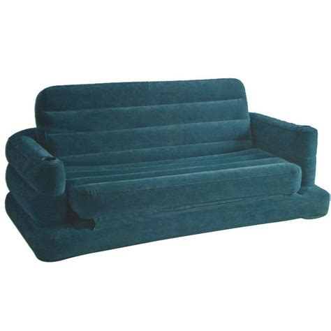 inflatable bed sofa intex pull out inflatable sofa bed