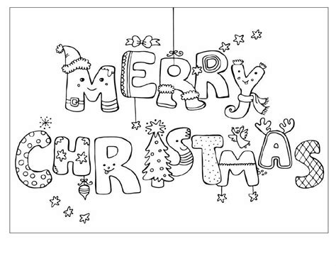 coloring pages for christmas cards merry christmas coloring pages