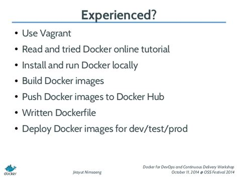 docker introduction tutorial introduction to docker