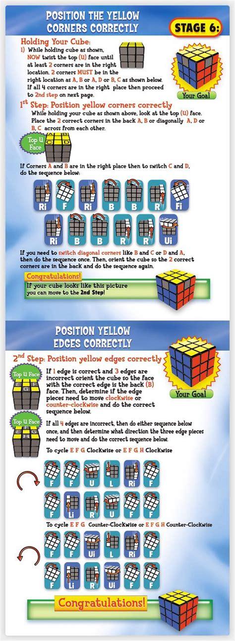 tutorial hack rubix 6 rubik s cube pinteres