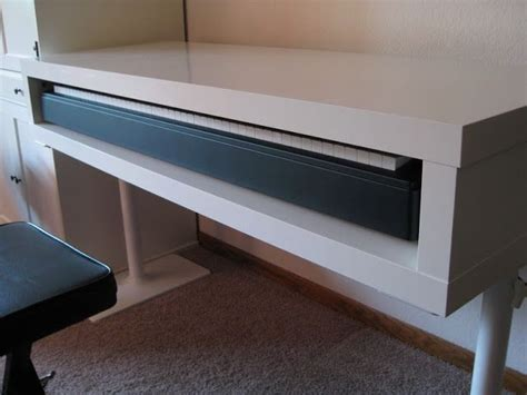 desk with keyboard tray ikea 16 best piano desks images on pinterest piano desk