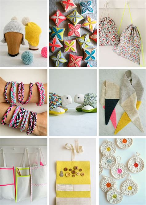 Ideas For Handmade Presents - last minute handmade gifts purl soho
