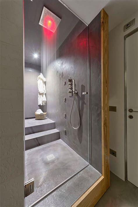 badkamer hout en betonlook badkamer met beton beton cire en hout inrichting huis