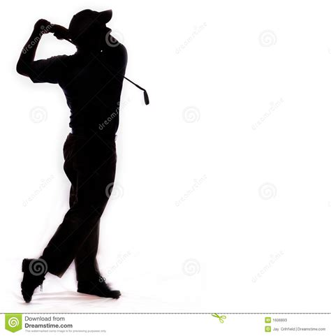 golf swing clip art golf swing isolated on white stock photos image 1606893