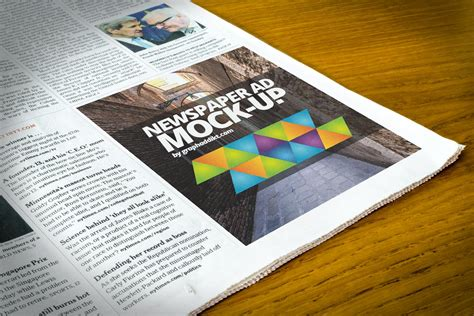 Daily Newspaper Psd Mockup Psd Mock Up Templates Pixeden Free Newspaper Advert Mockup Psd Creativetacos