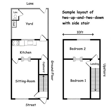 floor plan stairs spinner s end