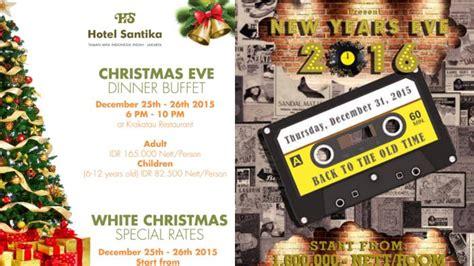 promo paket acara tahun baru hotel jakarta lagu lagu hits tahun 1980 an semarakkan malam tahun baru